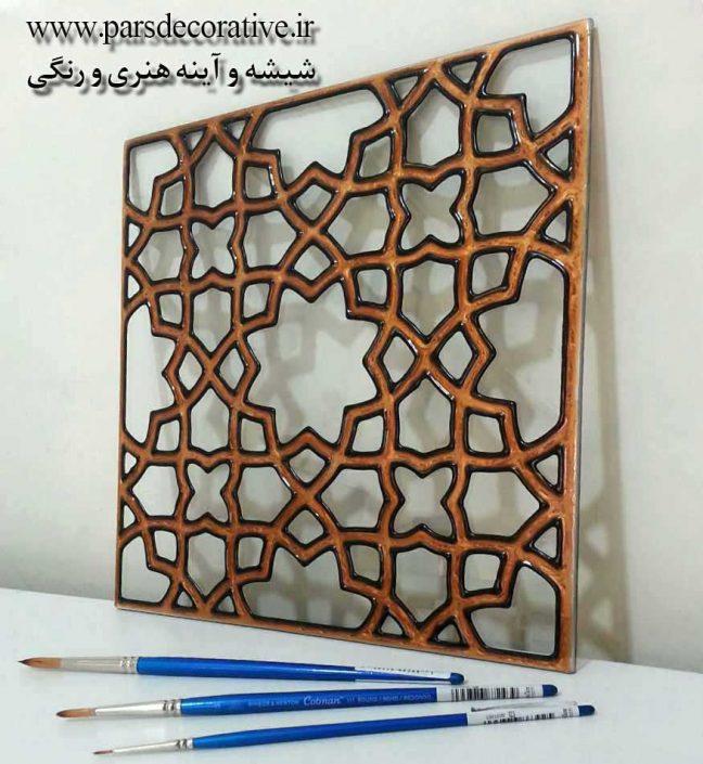طرح سنتی ایرانی گره چینی و ارسی