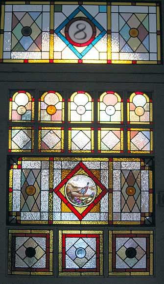شیشه های طراحی شده قدیمی