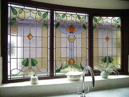شیشه مشجر