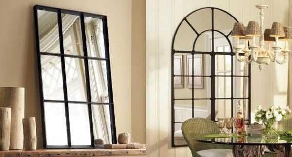 پنجره های اینه ای