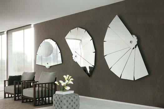 آینه های طرح بادبزن