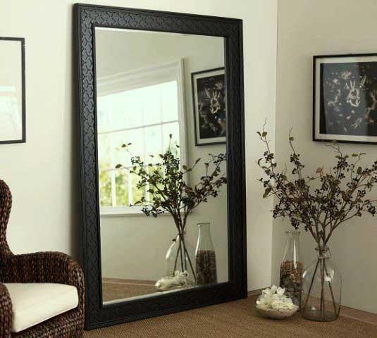 آینه قدی قاب دار