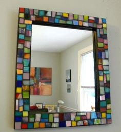 آینه مربعی ویترای شده