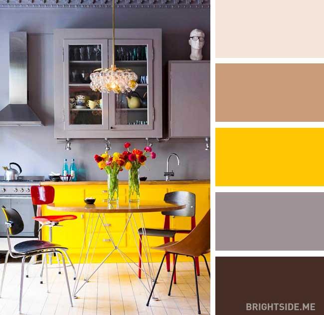 رنگ ها در دکوراسیون داخلی