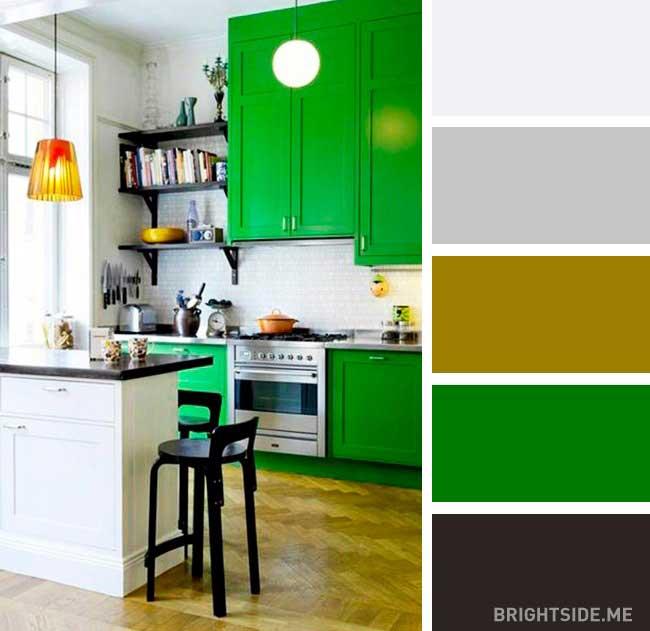 رنگ مکمل سبز سال 2017
