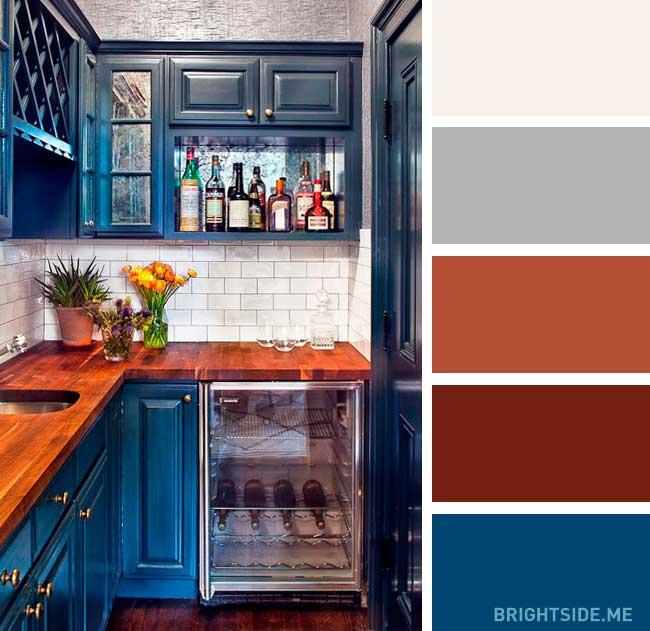 دکوراسیون رنگی خانه