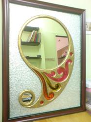 طرح ترمه آینه