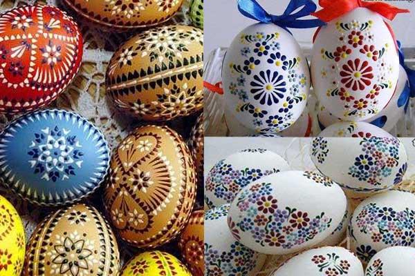 نقاشی با دورگیر روی تخم مرغ هفت سین