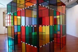 شیشه های رنگی