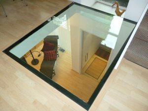 کابرد شیشه لمینت در نورگیر سقف