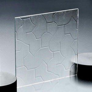 شیشه مشجر طرح دار